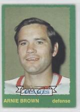 1973-74 O-Pee-Chee #225 Arnie Brown Atlanta Flames Hockey Card