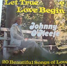 JOHNNY O'KEEFE LP LET TRUE LOVE BEGIN MADE IN AUSTRALIA