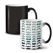 Mustache Stylish Fashion NEW Colour Changing Tea Coffee Mug 11 oz | Wellcoda