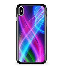 Luces de Arco Iris llamativo color Luminiscente con curvas y giros Vivid 2D Teléfono Estuche Cubierta
