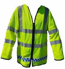 Hi Viz Vis Lightweight Reflective Traffic Overcoat Walking Recovery LW05 Grade B