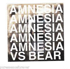 AMNESIA AMNESIA - Versus The Bear (USA No'd Ltd Ed (1000) 5 Tk CD Mini-Album)