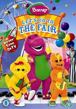 Barney: Let's Go to the Fair DVD NEW