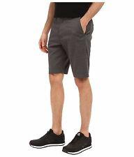 New VOLCOM heather gray khaki Frickin Modern Stretch Chino shorts 30 32 34 38