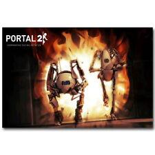 137767 Portal 2 Hot Game Chell Wheatley Mural imprimé Poster UK