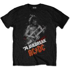 ACDC Jailbreak Angus Young Bon Scott Rock Tee Camiseta Oficial Hombre Unisex