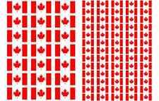 Canada Flag Stickers rectangular 21 or 65 per sheet