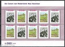 Nederland 2489-A-61/62 vel Canon 61 en 62 Max Havelaar - Eduard Douwes Dekker