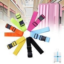 Adjustable Luggage Baggage Security Strap Belt Bag Suitcase Secure Lock Pack PŒ