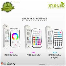 ✅ LED Controller 2,4 G Touch RGB u. SPI Digital M3 M6 M16 - Set inkl. Halterung