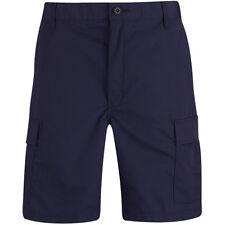 Propper BDU Pantalones Cortos Vela Marina Táctico Mosca Carga Hombres Dark Navy