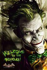 Batman - Arkham City Asylum Joker POSTER 60x90cm NEW * Welcome to the mad house