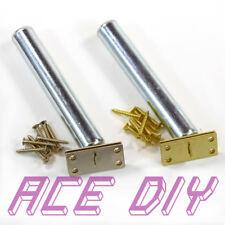 Concealed Door Closer   Hidden Tubular Internal Inner Spring Chain Brass Chrome