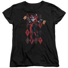 Batman DC Comics Superhero Harley Quinn Pow Pow Women's T-Shirt Tee
