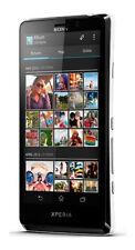 "Sony XPERIA T LT30P Black (FACTORY UNLOCKED) 13MP , 4.55"" TFT , 16GB"