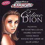 Songs Of Celine Dion: Karaoke, Dion, Celine, Very Good CD