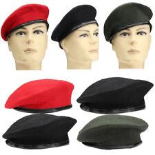 AU Patrol Military Army Soldier Hat Men Women Wool Beret Uniform Casual Warm Cap