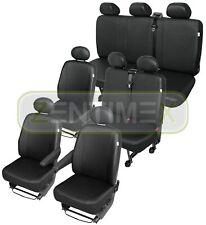 Sitzbezüge Schonbezüge SET QW Hyundai H-1 H1 Kunstleder schwarz