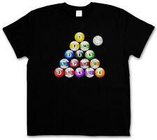 POOL BILLARD VINTAGE T-SHIRT - Eightball 8 Ball Bar Gamble Player Shirt Snooker