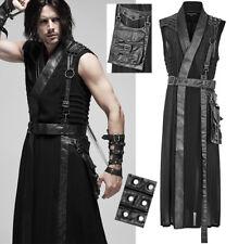 Veste kimono warrior gothique guerrier punk métal clouté harnais PunkRave Homme