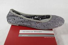 Marco Tozzi Ballerina 22108 Slipper schilf grün weiche Innensohle  NEU!