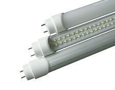 NEON TUBO LED SMD 60-120-150 CM 6500K LUCE  FREDDA/CALDA TRASPARENTE T8