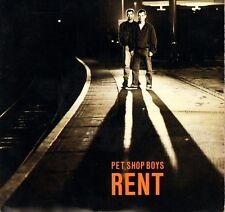 """PET SHOP BOYS rent  i want a dog 7"""" PS EX/EX uk parlophone R 6168"""