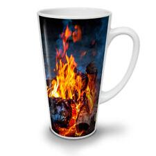 Fire Coal Camping Nature NEW White Tea Coffee Latte Mug 12 17 oz   Wellcoda