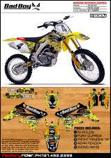 2007 2008 2009 SUZUKI RMZ 250 BadBoy Motocross Graphics Dirt Bike Graphics Decal