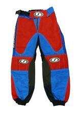 Kinder Motocross Barrus Spirit MX Racepant blau / Rot Ausverkauf T