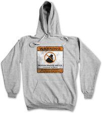 NEIGHBORHOOD WATCH SIGN HOODIE Schurken Symbol Logo Vigilantismus Vigilante