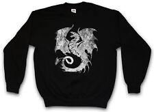DRAGON V PULLOVER Tattoo Medieval Monster Japan Asien Dungeon Knight Drachen