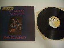 JEAN BOUCHETY LP PLAISIRS D'AMOUR.BARCLAY 920 106