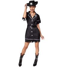 Frauenkostüm Cowgirl Cowboy Sheriff Western Wilder Westen Fasnacht Karneval