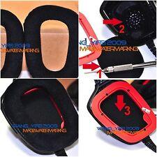 Velour Velvet Ear Pads Cushion For G35 G930 G430 F450 Gaming Headphones
