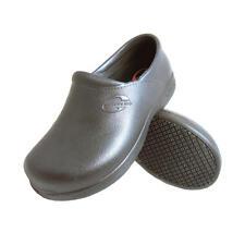 Genuine Grip Men's Black Slip Resistant Injection Work Clogs crocs bistro shoes