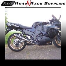 KAWASAKI ZZR 1400 2006-2007 A16 Carbono Moto GP EXHAUSTS & tuberías de enlace & Bafles