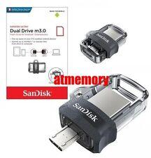 Sandisk Ultra Dual Drive 16GB 32GB 64GB 128GB OTG m3.0 USB Flash Drive lot
