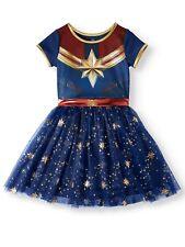 New Captain Marvel Cosplay Tutu Tulle Dress many sizes Girls