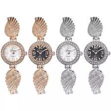 Ladies Womens Bracelet Watches Wrist Watch Rhinestone Stone Gold Silver Analog