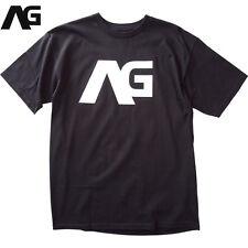 Analog Burton AG Icon Skateboard T-shirt Tee Black NEW NWT Snowboard Streetwear