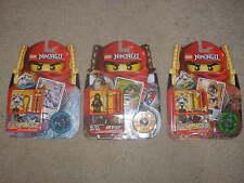 New Lot Lego Ninjago Masters of Spinjitzu Cole DX 2170 Kruncha 2174 Wyplash 2175