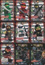 Lego Ninjago Serie 3 Trading Card Game - Ultra Schwarze Folien Karte Auswahl