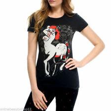 Iron Fist Femmes Horse Play Tee T Shirt-Noir