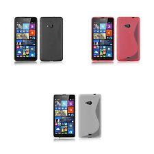 Für Microsoft Lumia 640 TPU S-LINE Gel Schutzhülle