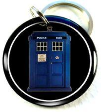 Dr. Who Tardis blue police box tv movie Pet id tags dog tag cat pet tags