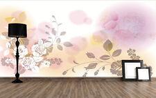 3D Blanc Jasmin 73 Photo Papier Peint en Autocollant Murale Plafond Chambre Art