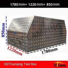 3mm Checker Gullwing CANOPY Toolbox Aluminum Tool Box 1780 1220 Full Open Truck