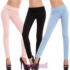 Pantaloni donna leggings elasticizzati skinny riga aderenti slim nuovi AS-3089-1