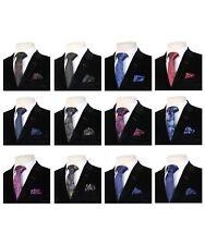 Boys Paisley Neckties Kids Formal Children Wedding Prom Party Ties with Hanky